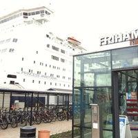 Photo taken at Frihamnsterminalen   Tallink - S:t Peter Line by Dima T. on 8/22/2012