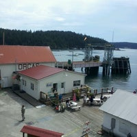 Photo taken at Orcas Island Ferry Terminal by Monique' W. on 8/6/2012