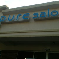 Photo taken at Pure Salon Spa by Betheny B. on 6/9/2012