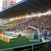 Photo taken at Estádio Heriberto Hülse by Lucas Artur R. on 3/4/2012