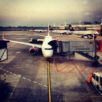 Photo taken at Gate B33 by Henning L. on 9/4/2012
