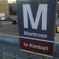 Photo taken at CTA - Montrose by Ryan B. on 12/12/2011