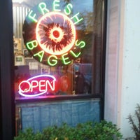Photo taken at Blazing Bagels by Tom S. on 10/24/2011