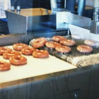 Photo taken at Krispy Kreme Doughnuts by Patrick C. on 5/12/2012