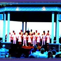 Photo taken at Rehoboth Beach Bandstand by Gar G. on 7/29/2012