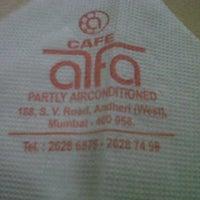 Photo taken at Cafe Alfa by Rahim S. on 11/26/2011