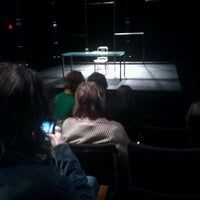 Photo taken at The Agony and the Ecstasy of Steve Jobs at The Public Theater by Kelli M. on 3/15/2012
