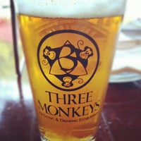 Photo taken at Three Monkeys by Chris B. on 8/30/2012