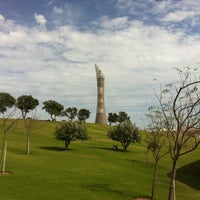 Photo taken at Aspire Park by Mohammed A. on 12/31/2010