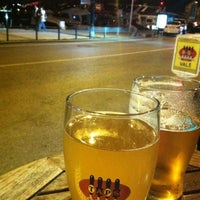 Photo taken at Taps Brewery by Sonay O. on 4/16/2012