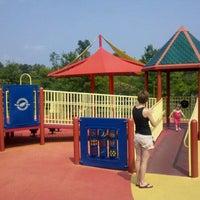 Photo taken at Clemyjontri Park by Tim M. on 9/4/2011