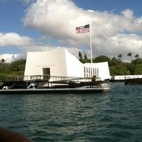 Photo taken at USS Arizona Memorial by Alex M. on 7/8/2012