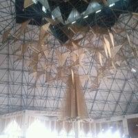 Photo taken at Masjid Agung Al-Ukhuwwah by Deva I. on 9/22/2011
