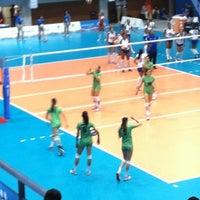 Photo taken at Complejo Panamericano de Voleibol by Eva T. on 10/19/2011