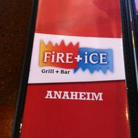 Photo taken at FiRE + iCE Grill + Bar by Lilo C. on 9/1/2012