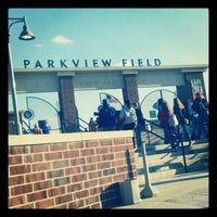 Photo taken at Parkview Field by Stasha on 4/5/2012