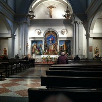 Photo taken at Church of Saint Agnes by Dirtyface on 2/2/2012