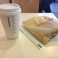 Photo taken at Starbucks by katia r. on 1/28/2012