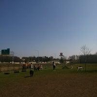 Photo taken at Windsor Heights Dog Park by Sarah U. on 3/16/2012