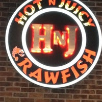 Photo taken at Hot N Juicy Crawfish by Michelle L. on 4/5/2012