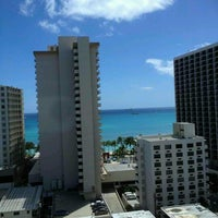 Photo taken at Hyatt Place Waikiki Beach by Leila P. on 6/22/2012