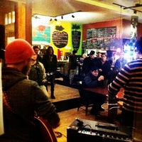 Photo taken at The Root Cafe by Gregory W. on 2/22/2012