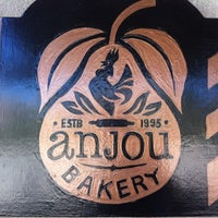 Photo taken at Anjou Bakery by Shawn M. on 8/27/2012