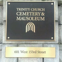 Photo taken at Trinity Church Cemetery & Mausoleum by Peeshepig on 5/27/2012