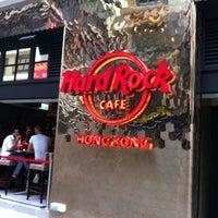 Photo taken at Hard Rock Café Hong Kong by Wh Y. on 5/2/2011