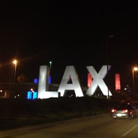 Photo taken at LAX Sign by Coty P. on 8/20/2012