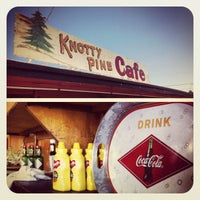 Photo taken at Knotty Pine Cafe by Rob H. on 6/1/2012