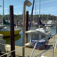 Photo taken at Harbor Island Marina by Parker W. on 8/7/2011