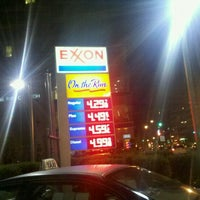 Photo taken at Exxon by Andre E. on 10/26/2011