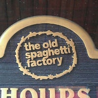Photo taken at The Old Spaghetti Factory - St. Louis by Mark M. on 5/23/2012