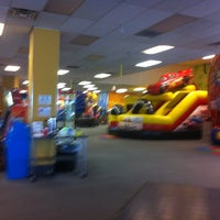 Photo taken at Bounce Realm by Morton M. on 7/17/2012