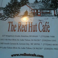 Photo taken at The Red Hut Café by Caradwen B. on 7/2/2012