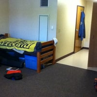 Photo taken at Residence Hall E at Cal U by Andrew D. on 8/30/2011