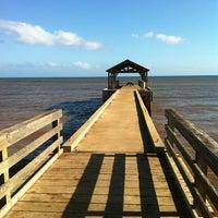 Photo taken at Waimea Recreation Pier by Jack S. on 4/30/2012