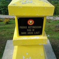 Photo taken at Gunung Jerai by Mohd Jasmin S. on 12/29/2011