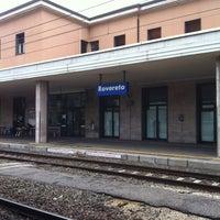 Photo taken at Stazione di Rovereto by Vito D. on 4/5/2012