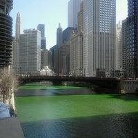 Photo taken at Chicago Riverwalk by Cristina P. on 3/17/2012