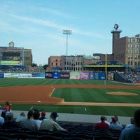 Photo taken at Fifth Third Field by Jessica T. on 8/26/2012