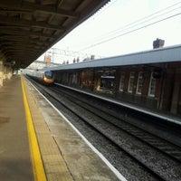 Photo taken at Nuneaton Railway Station (NUN) by chris m. on 5/21/2012