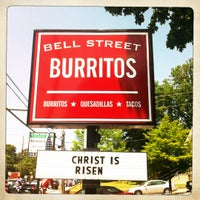 Photo taken at Bell Street Burritos by Stephen H. on 5/5/2012