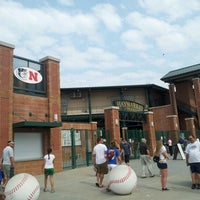 Photo taken at Hawks Field at Haymarket Park by Chris J. on 6/10/2012