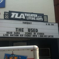 Photo taken at Theatre of the Living Arts by Michelle W. on 5/15/2012