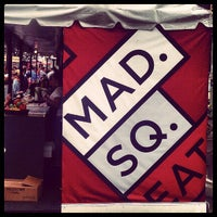 Photo taken at Mad. Sq. Eats by David C. on 5/16/2012