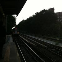 Photo taken at MTA Subway - Baychester Ave (5) by Alcibiades D. on 8/7/2012