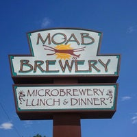 Photo taken at Moab Brewery by Scot R. on 7/6/2012
