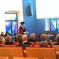 Photo taken at Bestuursgebouw Universiteit Maastricht by Dhyan D. on 6/17/2011